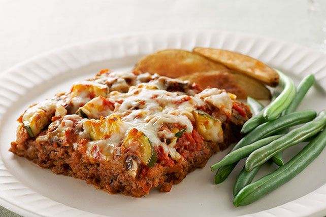 Our Easy Layered Italian Meatloaf has everything you love about lasagna except the noodles—and the  hassle.