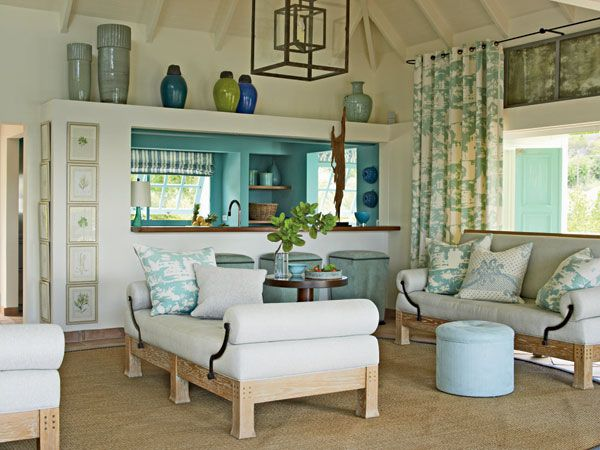15 best images about turquoise and cream decor on pinterest for Brown green and cream living room ideas