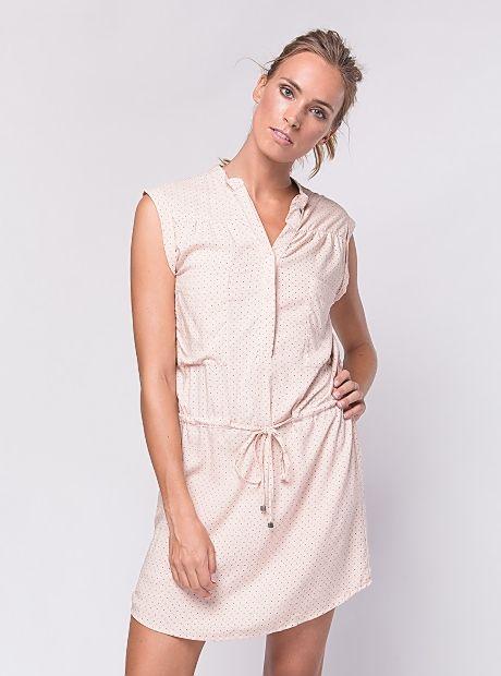 Pat Dress / Rose Dots | #BuddhaWear  $89.90 AUD  #ethicalfashion #women #fashion #womenswear #summer #ss16