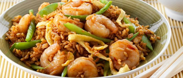 Spicy Prawn Fried Rice