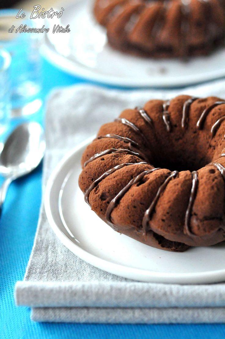 Ciambelle al cacao e nutella, ricetta dolce