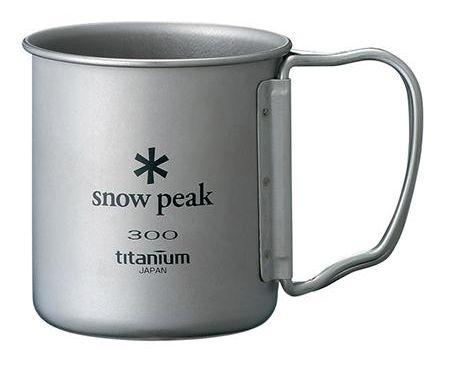 Snow Peak Titanium Single Cup 300ml