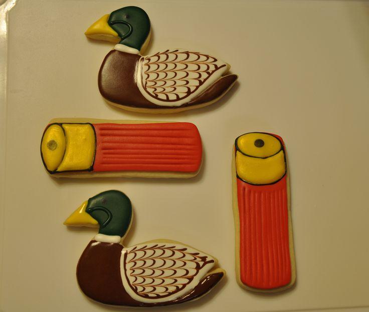 Duck Hunting Cookies