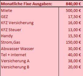 Excel info der monatlichen kosten. Alle monatlichen Ausgaben step by step in der Übersicht analysieren. Mit der kostenlosen Excel Datei ist dies kein Hexenwerk mehr.