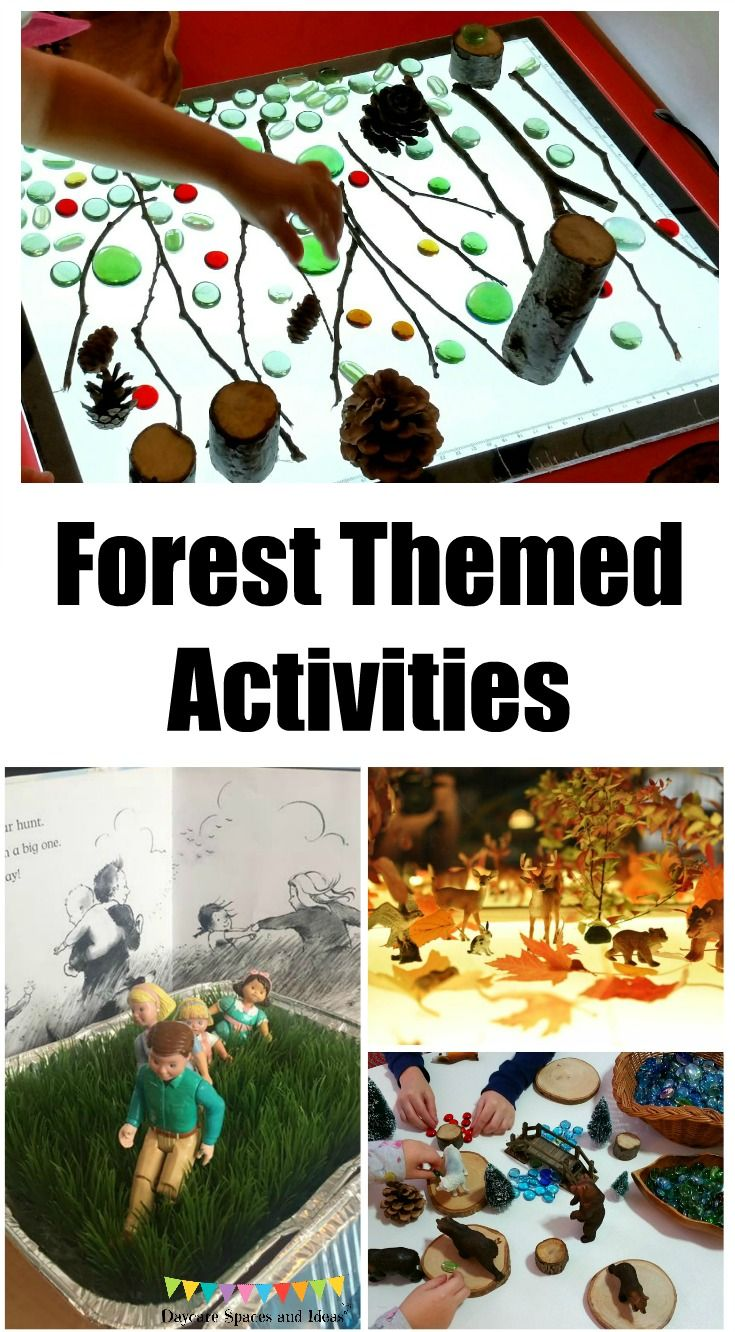 forest themed activities