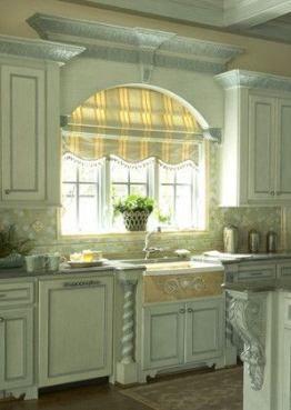 54 Ideas Kitchen Window Treatments Over Sink Diy Kitchen