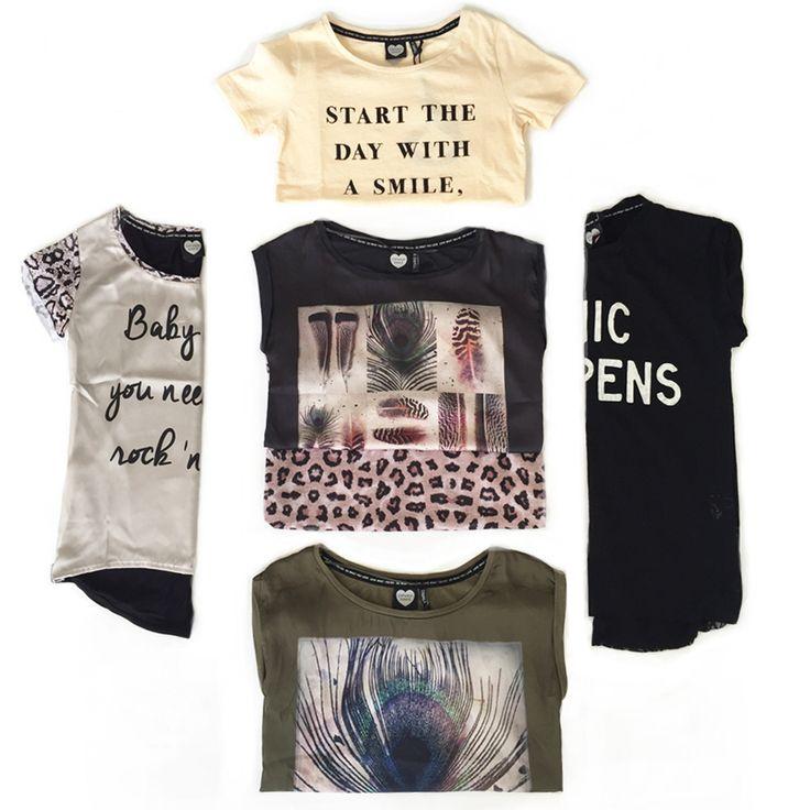 Nieuw binnen! Gave shirts van Catwalk Junkie! Catwalk Junkie is fris, hip en stijlvol!  #fashion #statement #shirt #hip #style #steegenga #mode #women