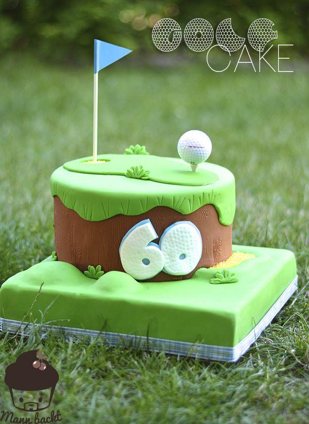 """Motivtorte """"Golf spielen""""… oder mein zaghafter Versuch, von den Besten zu lernen"""