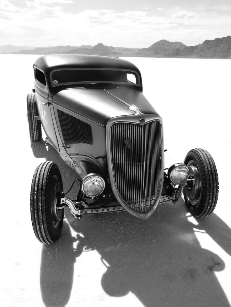 34 ford at the bonneville salt flats two wheels and four for Garage ford bonneville