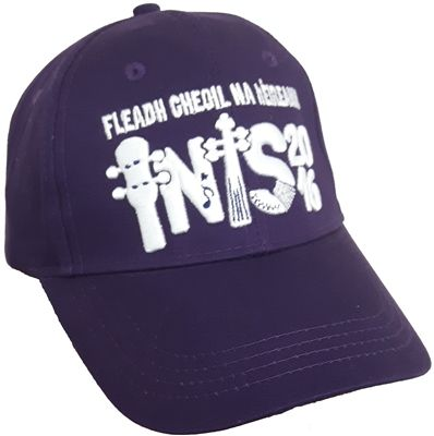 Fleadh Inis 2016 Merchandise - celebrate Fleadh Cheoil na hÉIireann coming to Ennis in style! Purple Cap €15 WowWee.ie