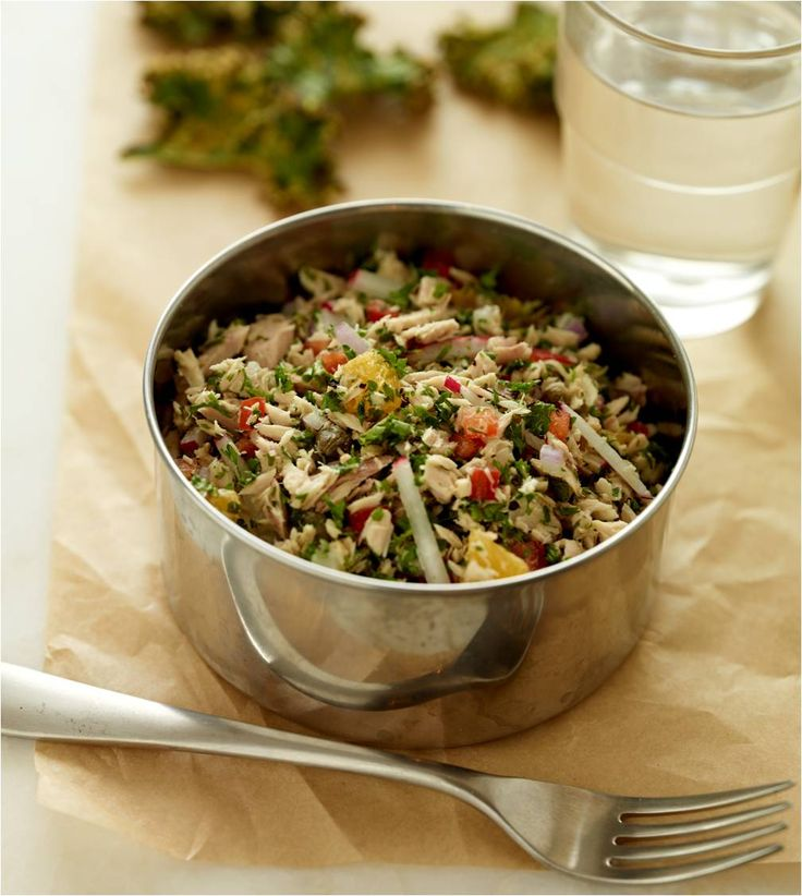 I originally saw this recipe in Bon Appétit magazine many years ago, and have made my own little tweaks over the years. This colorful and sophisticated salad raises canned tuna to another level. I ...