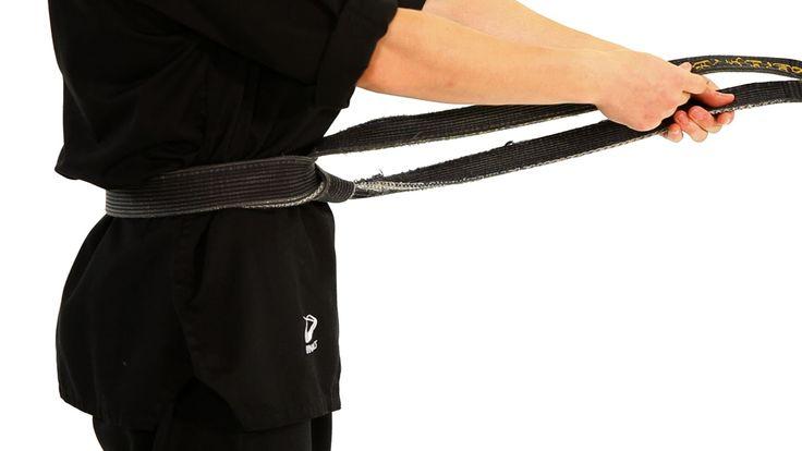 How to Tie a Taekwondo Belt | Taekwondo Training