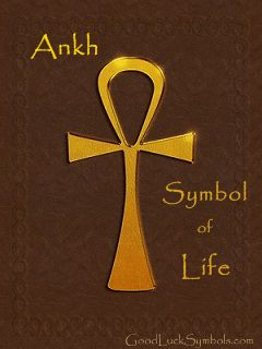 The Ankh is an ancient Egyptian symbol. This Egyptian cross is widely known as the symbol of life, but the ankh also has other meanings.