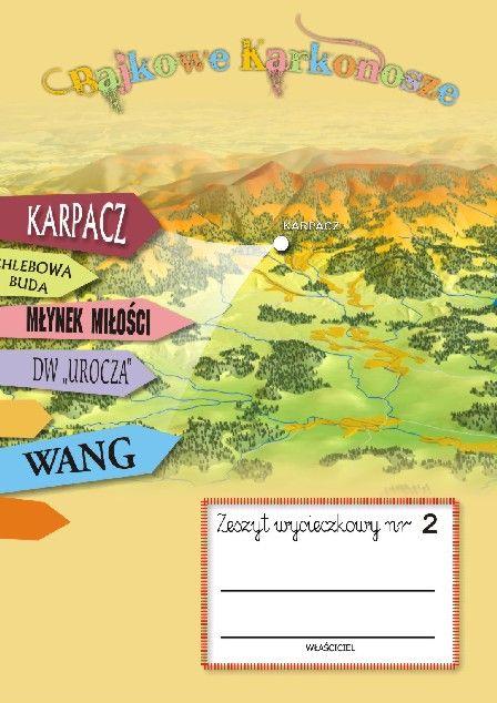 Zeszyt wycieczkowy nr 4 KARPACZ | Wydawnictwo Poligrafia AD-REM