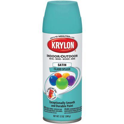 Krylon Satin Island Splash Paint Colors Pinterest Aerosol Paint Satin And Islands