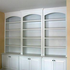 Встроенные офисные книжные шкафы Томас Хаас