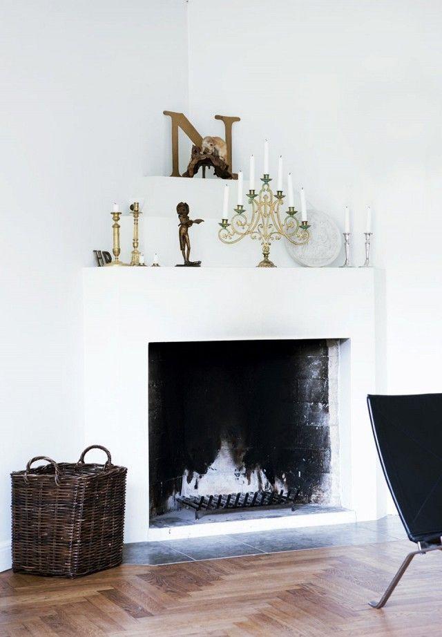 Astonishing Unique Ideas Big Fireplace Living Room Freestanding