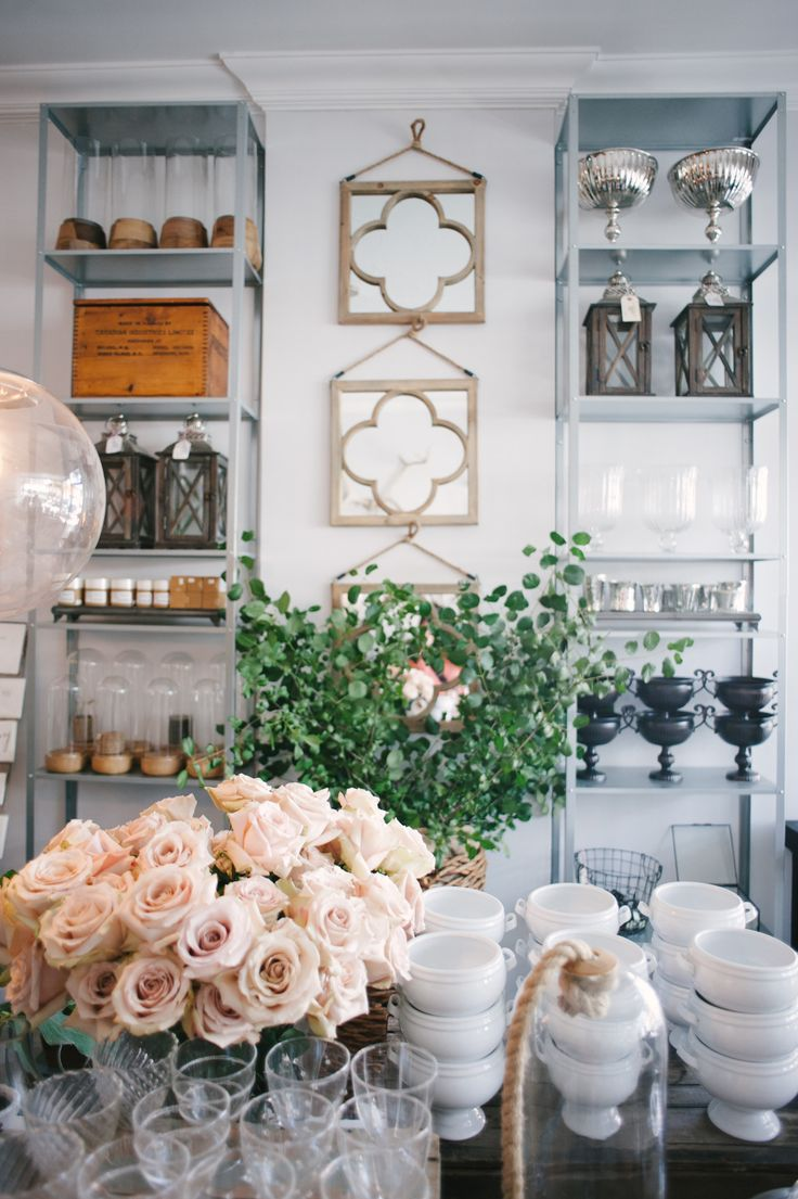 Flower shop loveliness | Photography: Heidi Lau - heidilau.ca Read More: http://www.stylemepretty.com/living/2014/09/03/behind-the-scenes-sweet-woodruff/