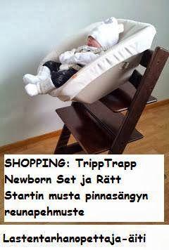ostokset, lastentarvikkeet, vauva, äitiys, Tripp Trapp Newborn Set