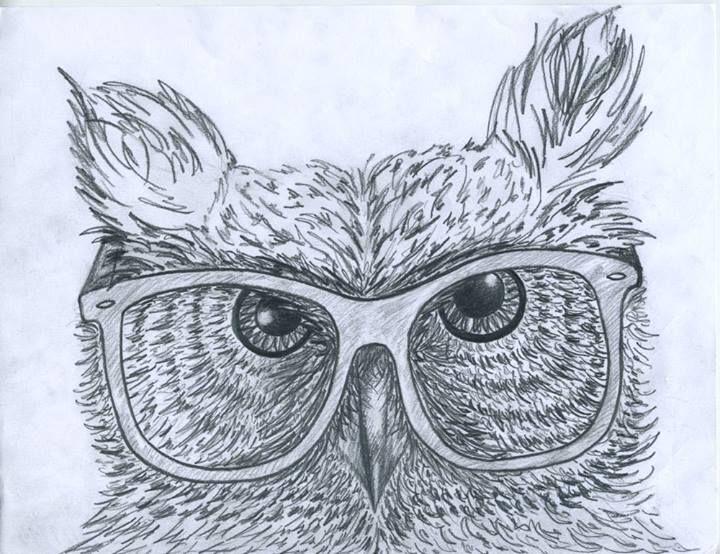 Hister Owl, pencil