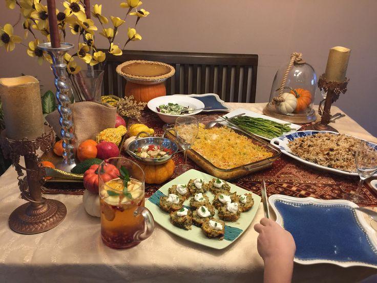 Vegetarian Thanksgiving Dinner