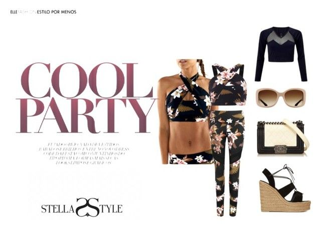 Cool Party... by stellasstyle247activewear on Polyvore featuring polyvore, mode, style, Yves Saint Laurent, Chanel, L'urv, Alpine, fashion and clothing
