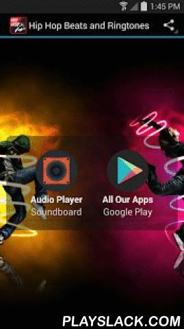 Hip Hop Beats And Ringtones Android App - playslack.com , Hip Hop Beats and  Ringtones is a free app with 45+ studio quality hip hop, RnB and rap  rhythms.