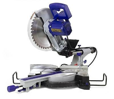 Sliding Compound Miter Saw 12in Machine Tool Cutting Portable Bevel Slicing New