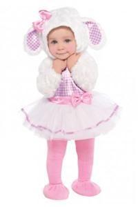 Sevimli Kuzu Kostümü 12-18 Ay Parti Kostümleri - Bebek Kostümleri Cadılar bayramı / Halloween, Kostümlü Parti, Kıyafet Balosu, Okul Gösterileri, Temalı Doğum günleri için kostümleri PartiPaketi.com'da bulabilirsiniz.  Yalancı kürk kollu, pembe-beyaz pöti kareli koton kumaştan üst ve pembe saten kemer ve kurdelalı tütüden oluşan bebek kostümü. Bu kostüme yumuşak kuzu kulaklı, pöti kareli biyeli ve kurdelalı kapüşon ile pembe tayt ve botlar dahildir.