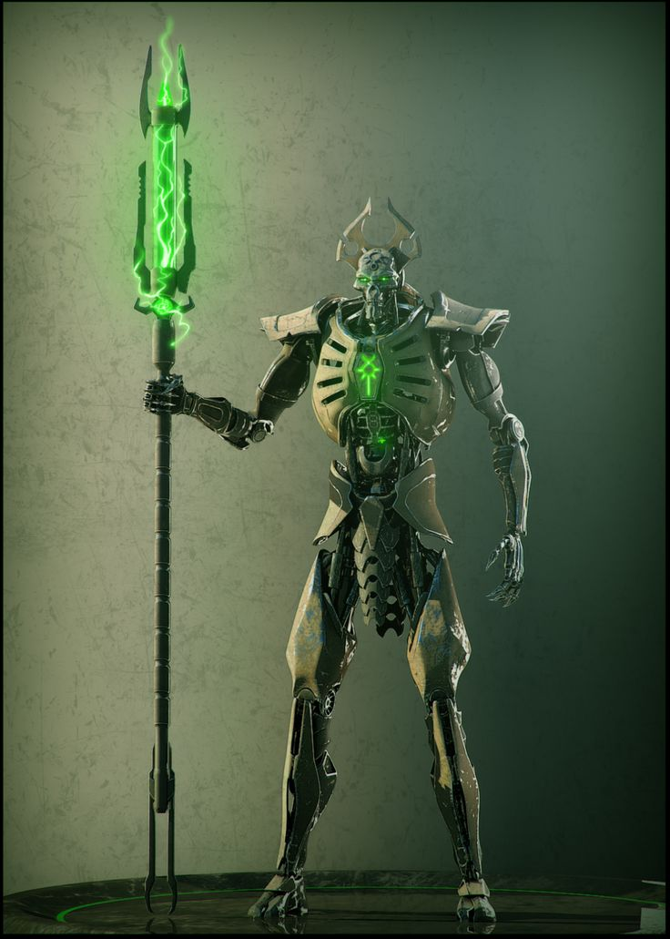 Necron lord #1 by Avitus12 monster beast creature animal | Create your own roleplaying game material w/ RPG Bard: www.rpgbard.com | Writing inspiration for Dungeons and Dragons DND D&D Pathfinder PFRPG Warhammer 40k Star Wars Shadowrun Call of Cthulhu Lord of the Rings LoTR + d20 fantasy science fiction scifi horror design | Not Trusty Sword art: click artwork for source