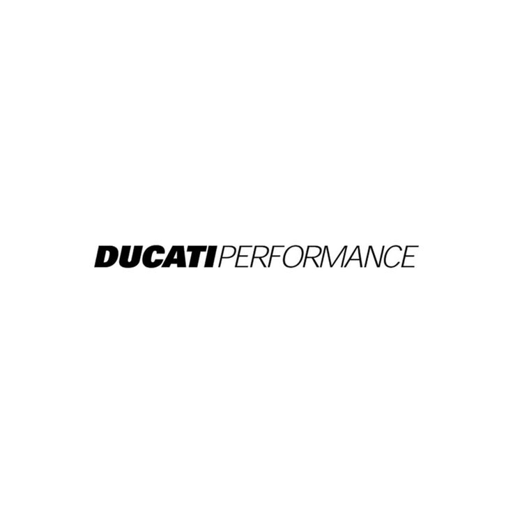 Ducati Performance Logo Vinyl Decal   BallzBeatz . com