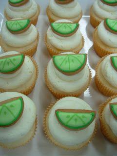 a. party style: cinco de mayo :: margarita cupcakes