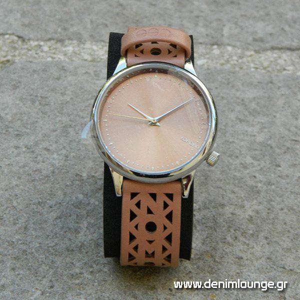Komono Estelle Cutout. KOMONO designs elegant watches in simple & timeless forms. In store: Zigomalli 1, Ioannina, Greece. #DenimLounge: the place #UrbanSlackers meet fashion accessories sice 1969.