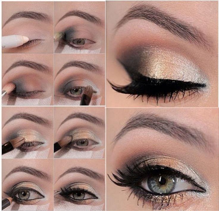 tutorial smokey eyes occhi verdi - Cerca con Google