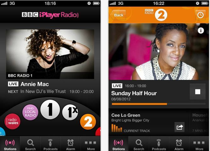 BBC Launches Radio App For iOS Devices
