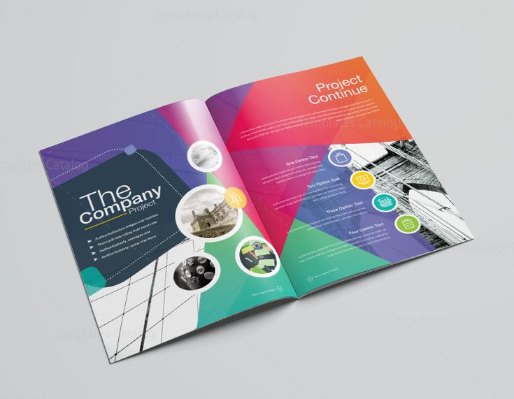 16 Pages Clean Professional Corporate Brochure Template 001200