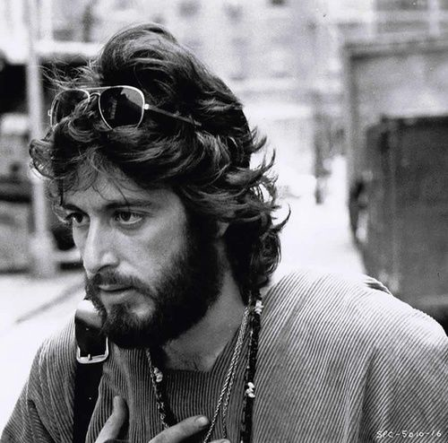 Al Pacino in Serpico, 1973.