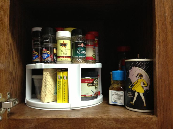 Lazy Susan Spice Rack Custom 50 Best Spice Rack Repurposed Images On Pinterest  Spice Racks Design Decoration