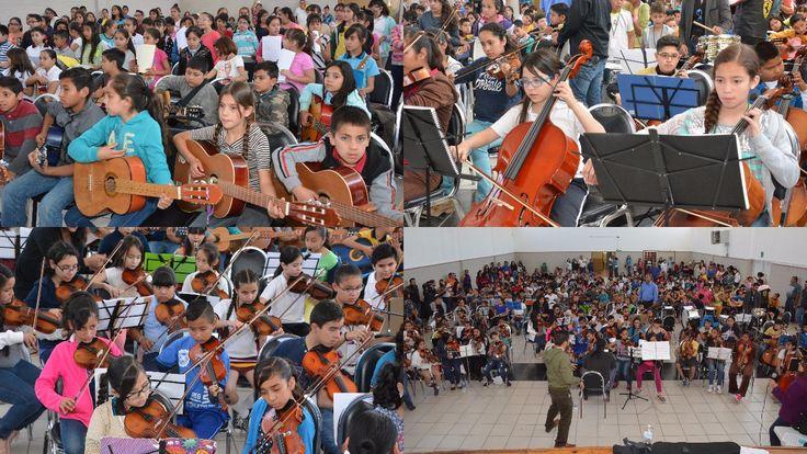 Impulsan formación integral de estudiantes on orquestas escolares