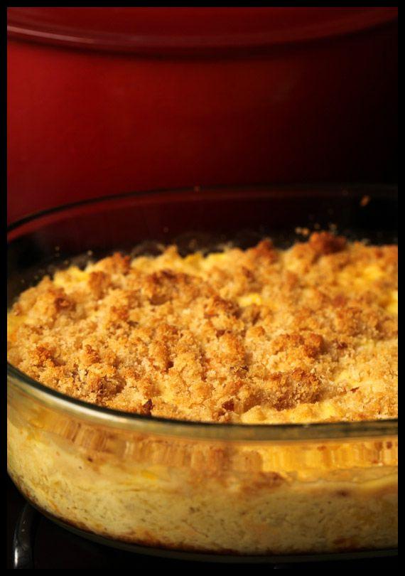 Cheesy yellow squash (Crookneck Squash Recipes)