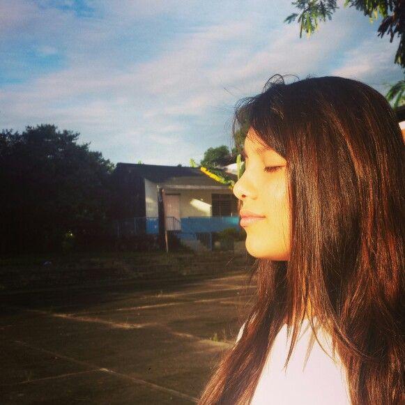 El sol es mi temor pero ese calorsito que se siente en épocas de frío es tan agradable