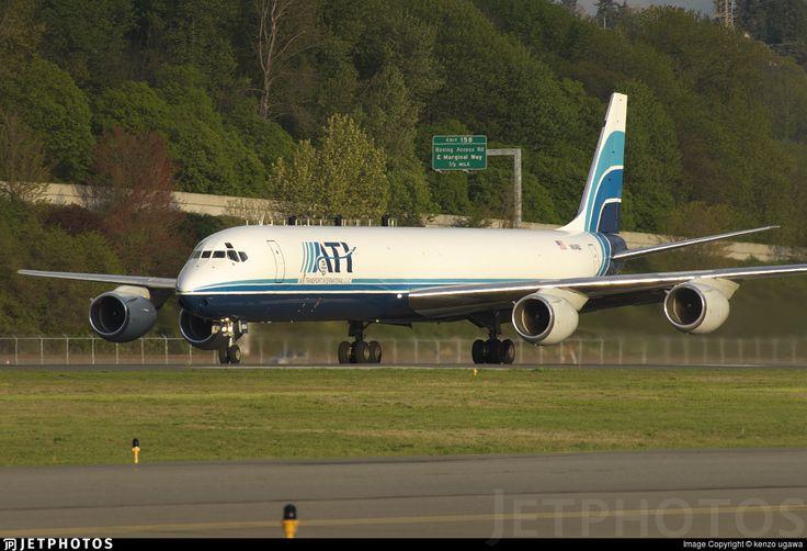 Air Transport International (ATI) McDonnell-Douglas DC-8-73CF (registered N604BX)
