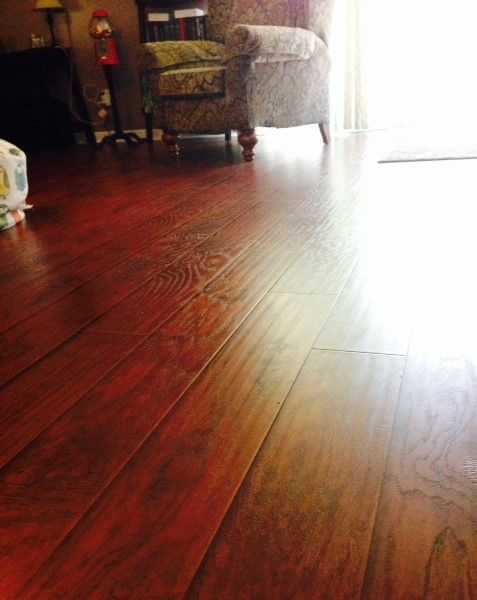 1 Year Later Select Surfaces Laminate Flooring Canyon Oak From Sam S Club