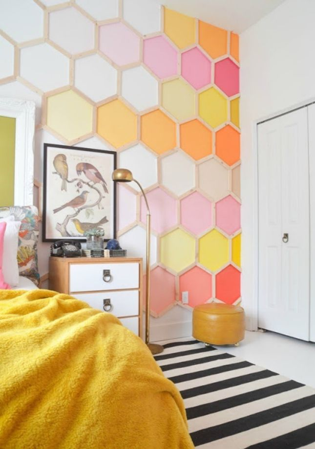 Kara you need to stop what you are doing right now and do these in your future home!! Stunning!! 48 Eye-Catching Wall Murals to Buy or DIY via Brit + Co.