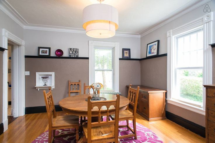 Check out this awesome listing on Airbnb: BEAUTIFUL VICTORIAN SINGLE FAMILY! - Houses for Rent in Boston: