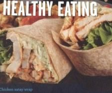 Recipe Chicken Satay Wrap by nicole22 - Recipe of category Main dishes - others