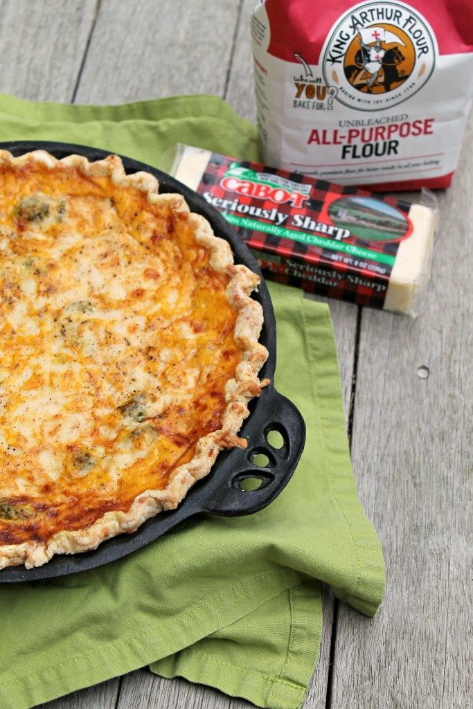 This savory quiche is perfect for breakfast, lunch, or dinner. Try it today!