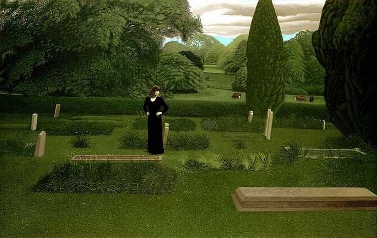 """""""Our Days Were a Joy and Our Paths Through Flowers"""", by David Inshaw. www.davidinshaw.net"""