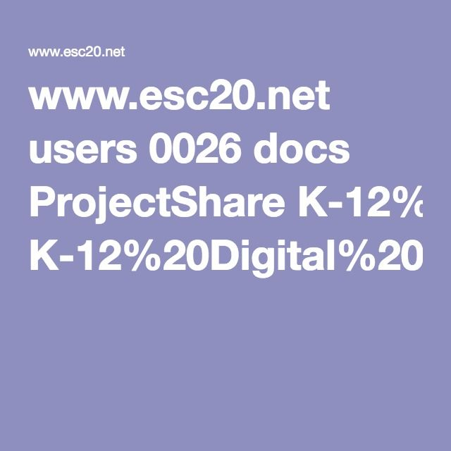 www.esc20.net users 0026 docs ProjectShare K-12%20Digital%20Portfolio%20Programs%20for%20CCR%20in%20Project%20Share.pdf