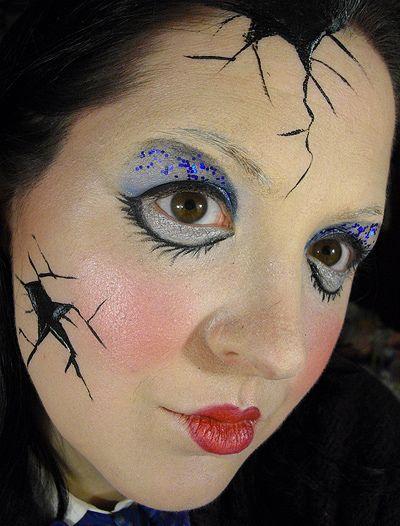 30 best Doll makeup images on Pinterest | Make up, Halloween ideas ...